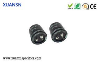 Amplifier capacitors