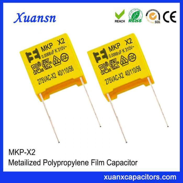 Small size X2 capacitor