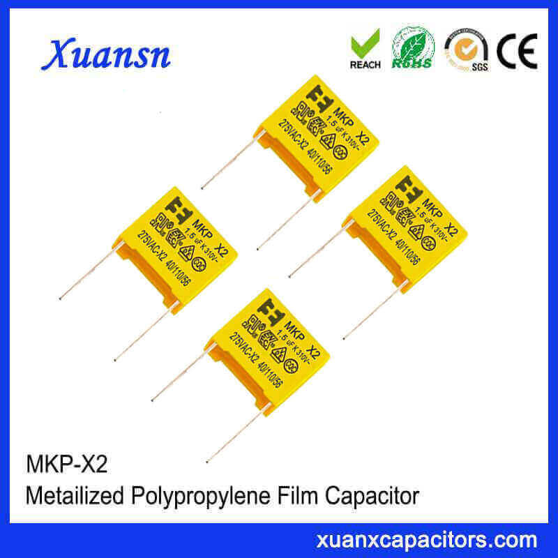 Safety X2 capacitor