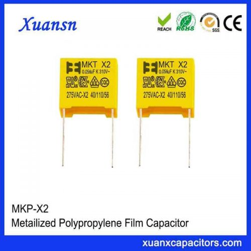 Thin film x2 capacitor 563K