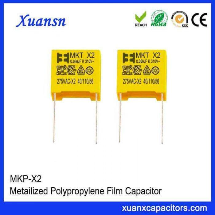 Thin film x2 capacitor 563K