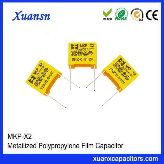 Suppress anti-interference capacitor X2