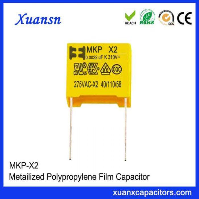 275vac capacitor X2