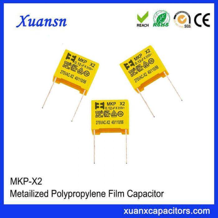 x2 type capacitor