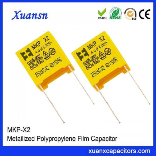 Electronic components X2 capacitor 405K
