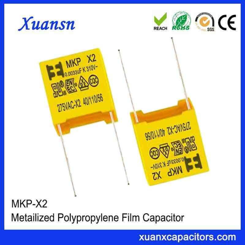 X2 capacitor 275VAC 332K