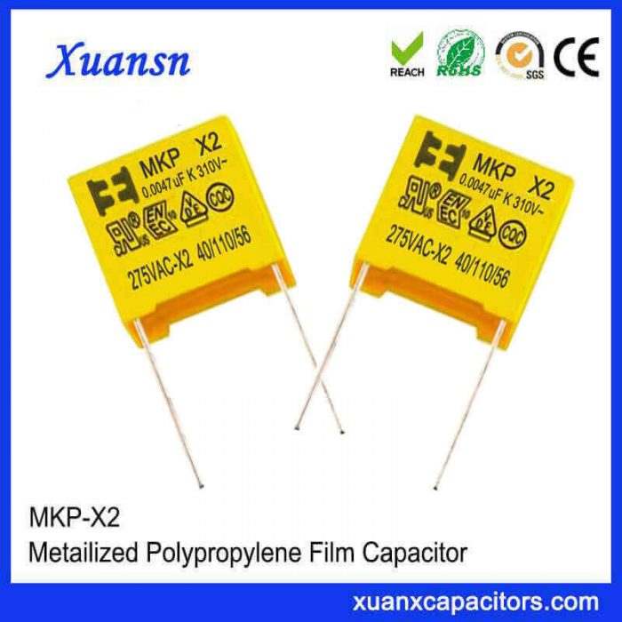 X2 safety capacitor 0.0047uf