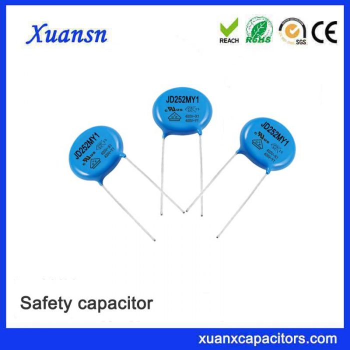 Professional made 2500pf safety capacitor