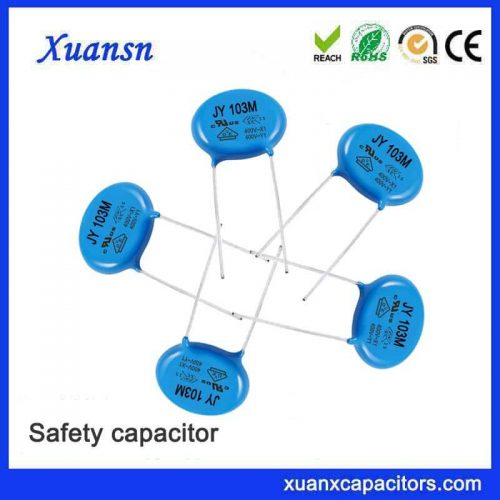 Safety ceramic capacitor 103M