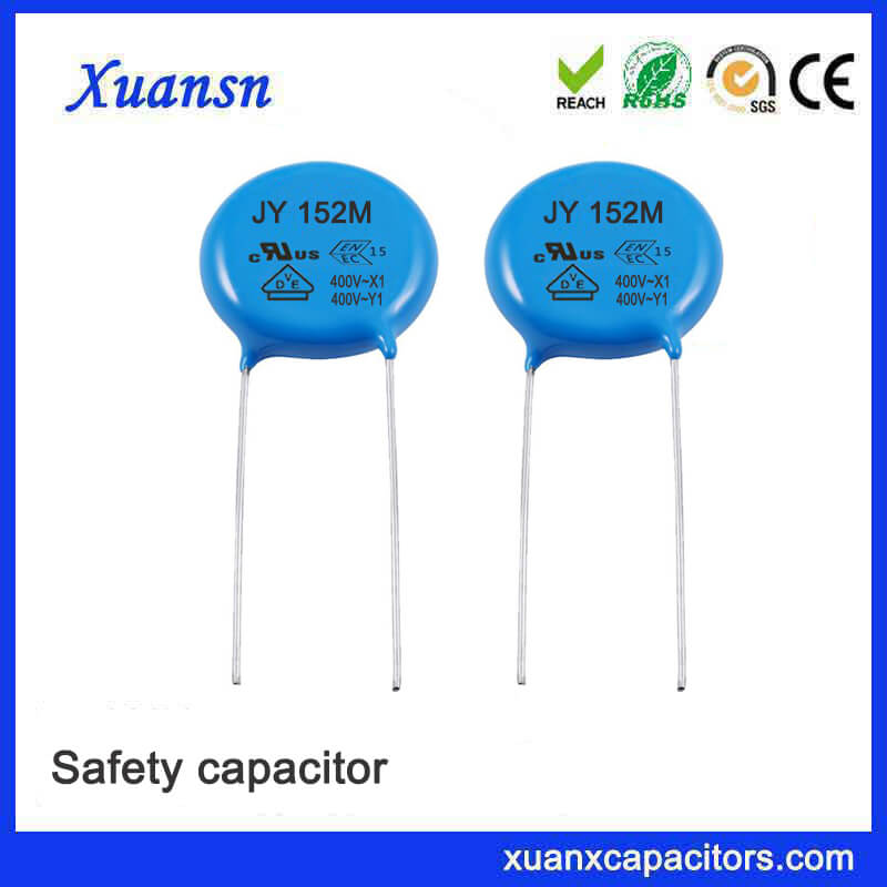 Electronic components Y capacitor