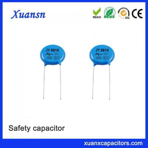 Standard ceramic capacitor Y2 safety capacitor