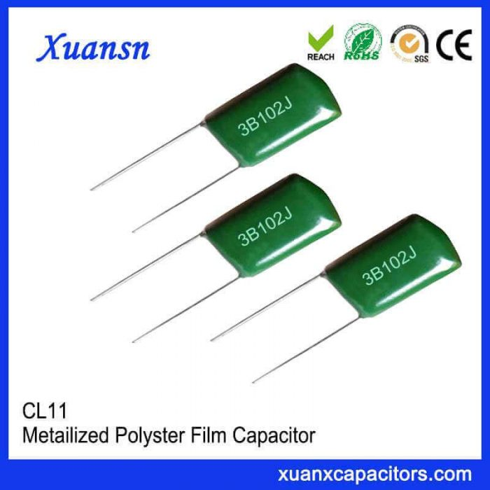 Polyester film polyester capacitor CL11