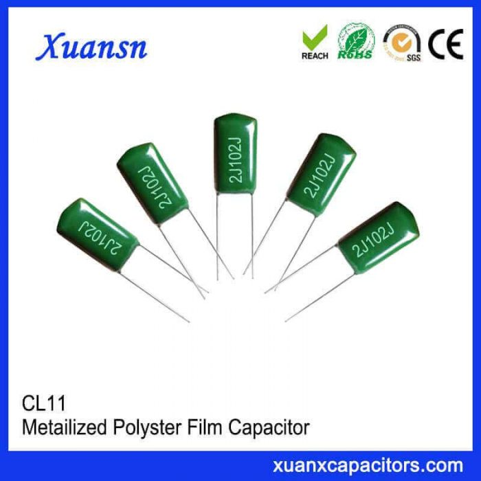 CL11 film polyester capacitors
