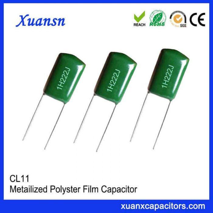 High-quality metal film capacitors