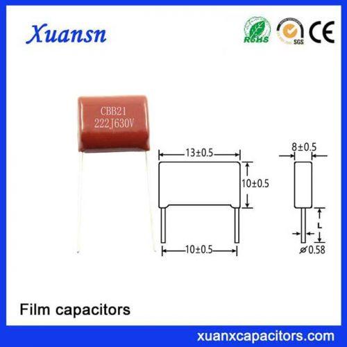 Snubber Film Capacitor 222J630V