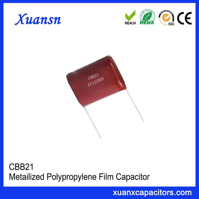 CBB21 473J 250V ac capacitor