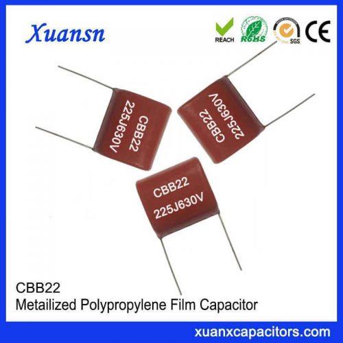 CBB22 metallized film capacitor