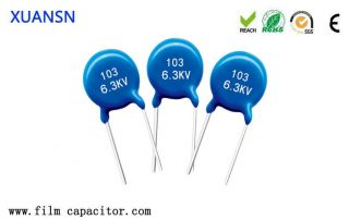 Military DC High Voltage Ceramic Capacitors