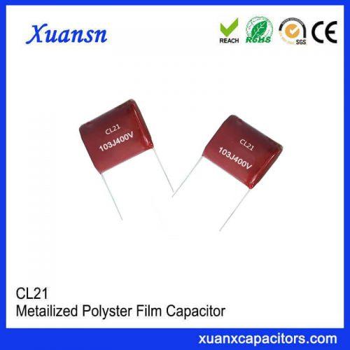 Class CL21 Capacitor 103J 400V