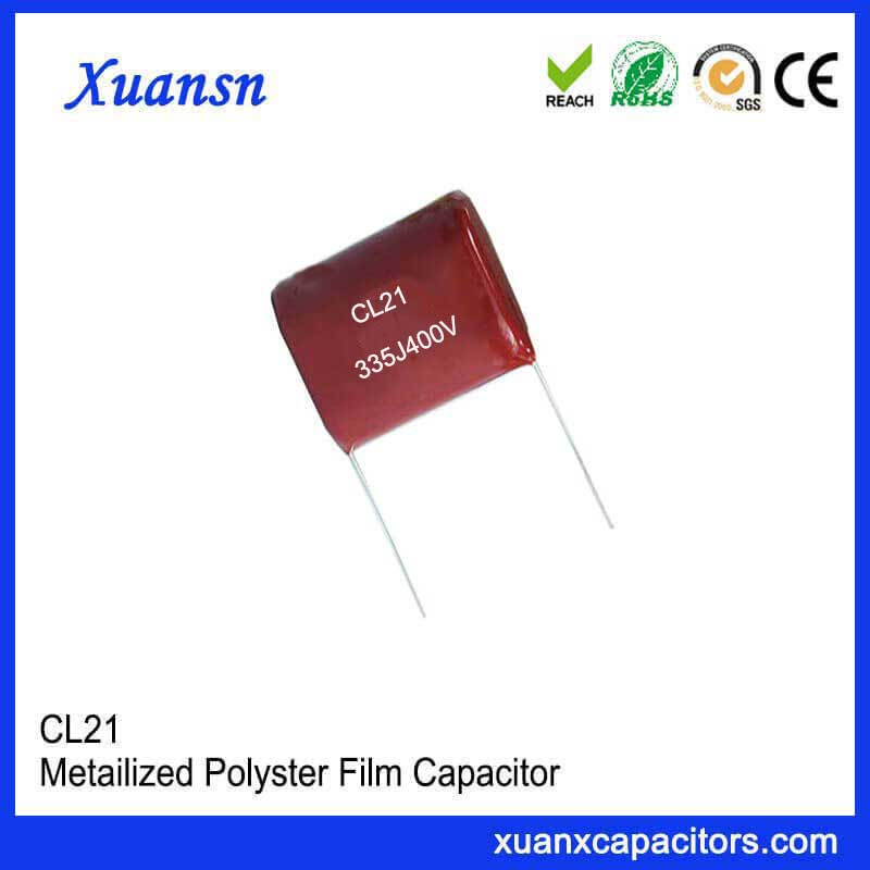CL21 polyester film capacitor