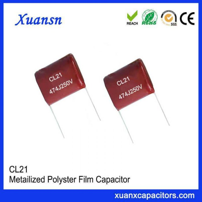 Polyester capacitor CL21