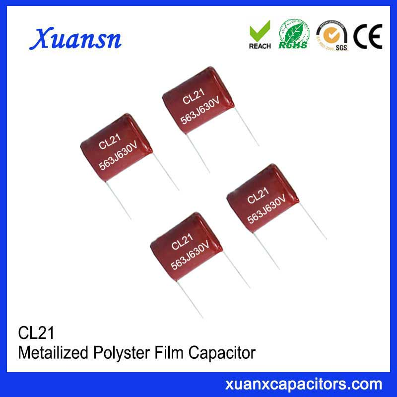 Factory direct sales film capacitor CL21