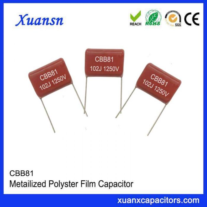 CBB81 capacitor 102J