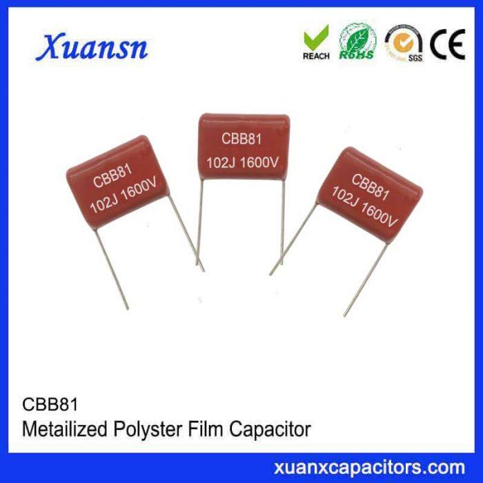 CBB81 high voltage capacitor