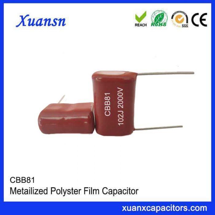 CBB polypropylene film capacitor CBB81