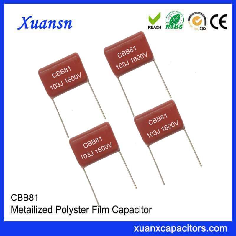 High quality metal foil capacitor CBB81