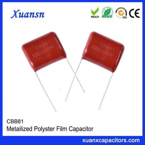 Factory made CBB81 capacitors