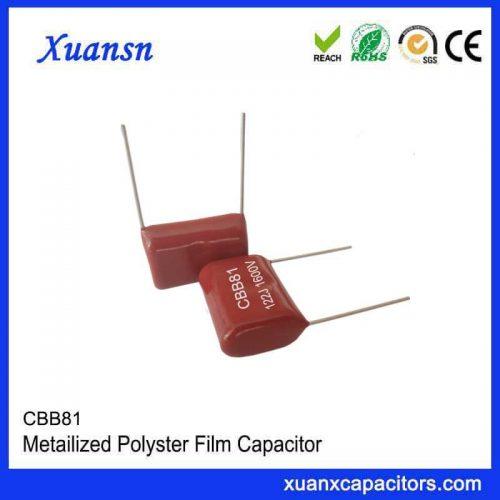 CBB81 capacitor 1600VDC