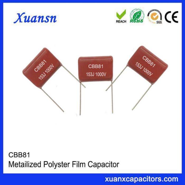 CBB81 small loss capacitor