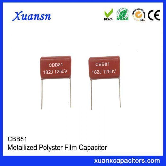 1250VCBB81 high voltage film capacitor