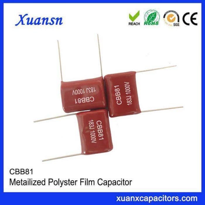 Metallized film capacitor CBB81