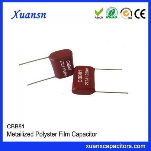 CBB81 foil high voltage capacitor