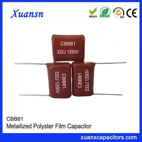 Polypropylene foil capacitor CBB81