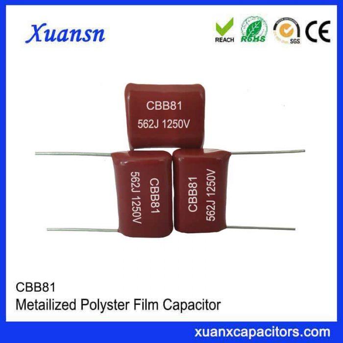 Polypropylene high voltage CBB capacitor