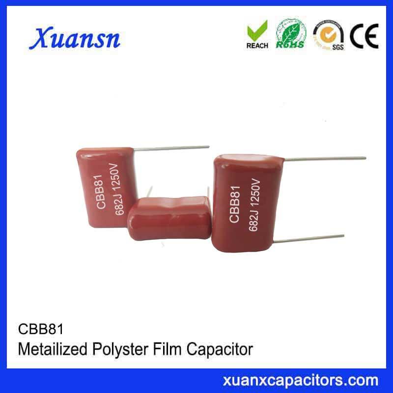 High quality environmental protection CBB81 capacitor