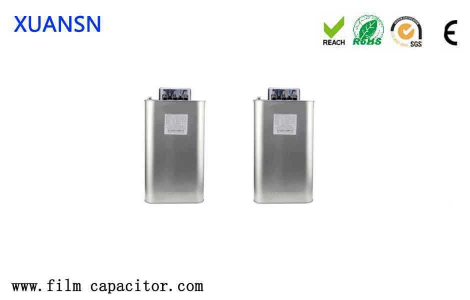 Low-voltage power capacitors