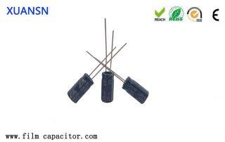 Structural characteristics of aluminum electrolytic capacitors