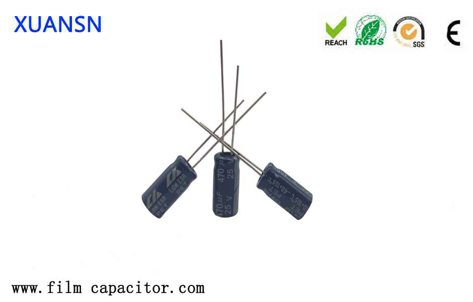 Structural characteristics of aluminum electrolytic capacitors