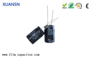 How to choose the size of the filter capacitor