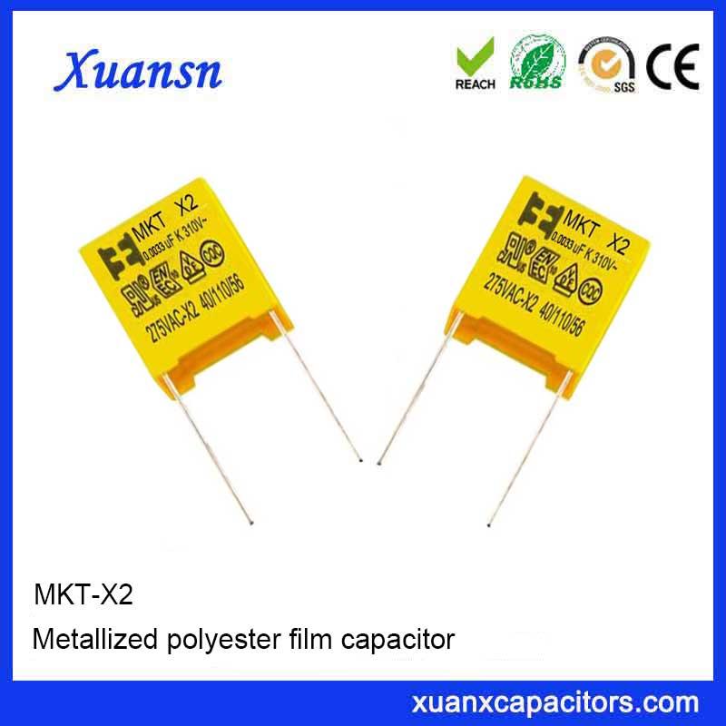 X2 Film Capacitor 0.0033UF