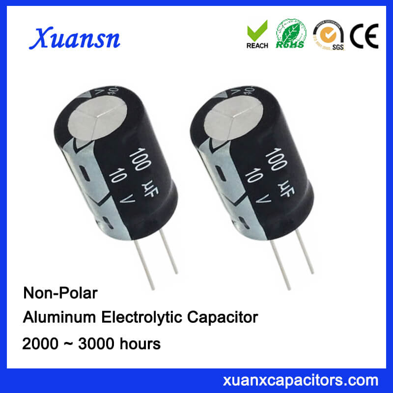 conventional capacitor 100uf10v
