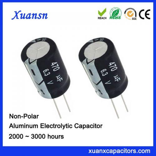 bypass capacitor filter 470uf6.3v