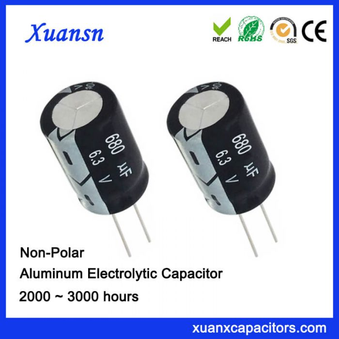 Switch Capacitor 680UF6.3V 3000Hours Factory Price