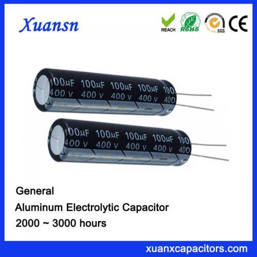 100uf 400v electric capacitors