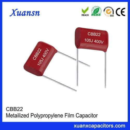 Cbb22 105j400V Capacitor