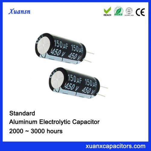 150UF 450V Eelctrolytic Capacitor
